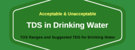 TDS in Drinking Water