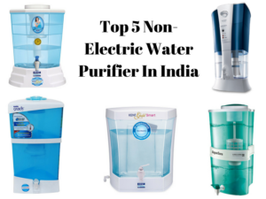 non electric water purifiers